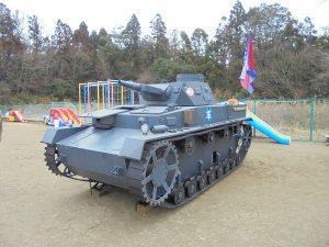 ガルパンの戦車がやって来た!!