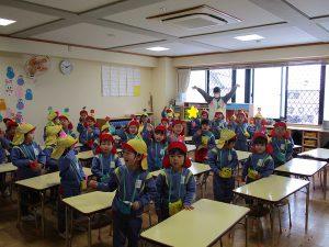 笑顔でバイバイのクラスも。