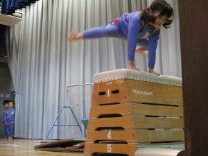 跳び箱金メダル☆