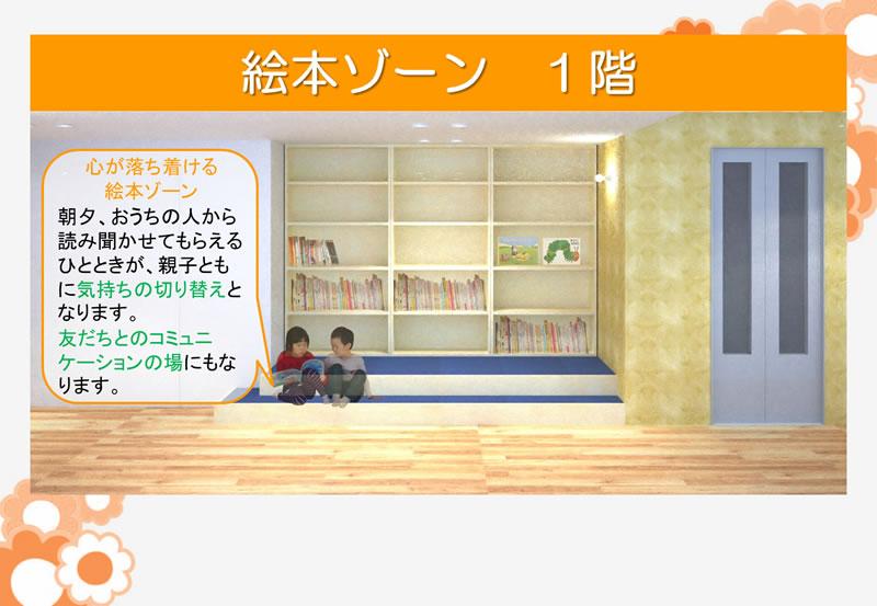 絵本ゾーン1階