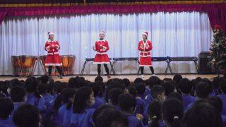 先生達による可愛いダンス から始まりました!!